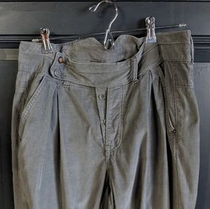 ~RESERVED~ Collection Highwaisted Corduroy Harem